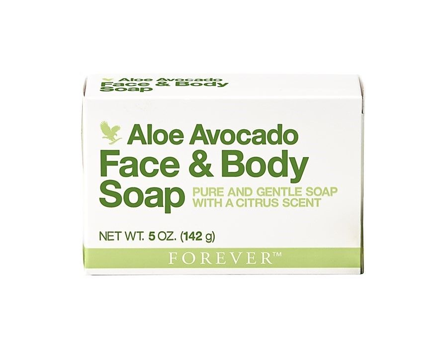 Aloe Avocado Face and Body Soap