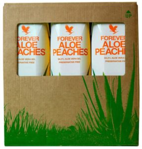 Forever Aloe Peaches Tri-Pack